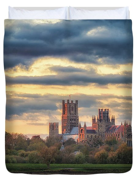 Cathedral Sunset Duvet Cover