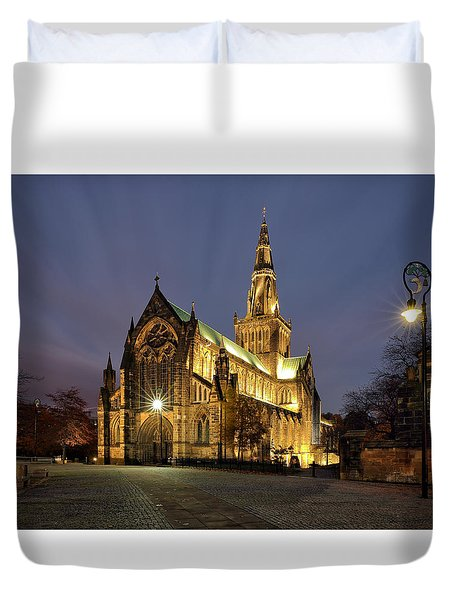Cathedral Twilight Duvet Cover