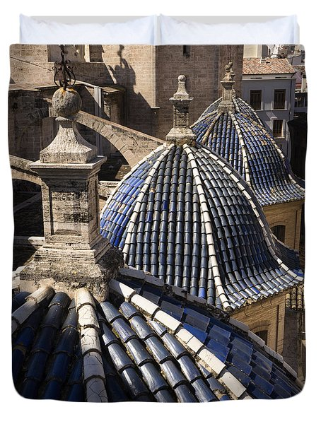 Cathedral Valencia Side Domes Duvet Cover by For Ninety One Days
