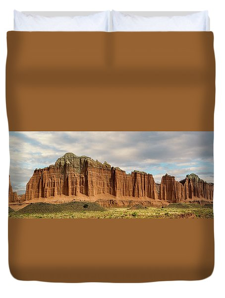 Cathedral Valley Wall Duvet Cover