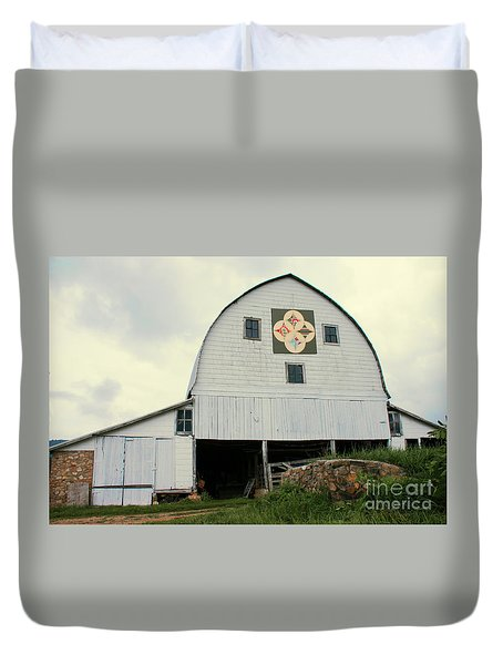 Cathedral Window Duvet Cover by Annlynn Ward