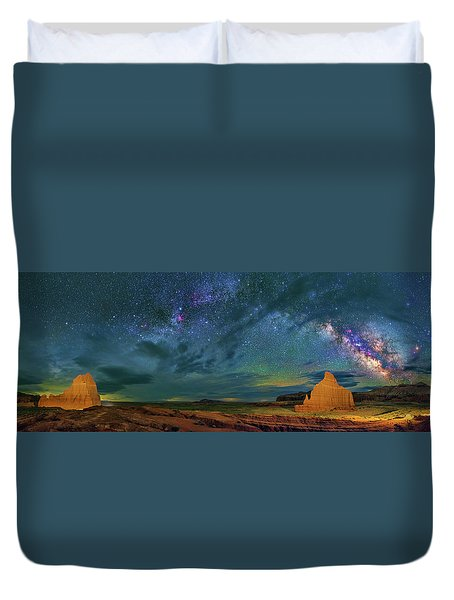 Cathedrals Duvet Cover