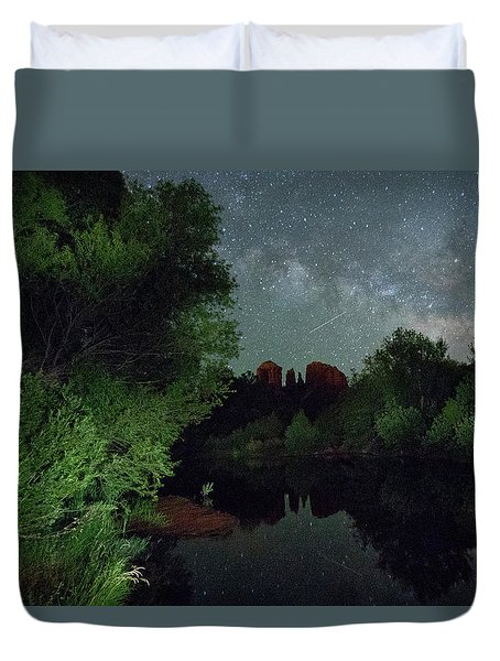 Cathedrals' Skies Duvet Cover