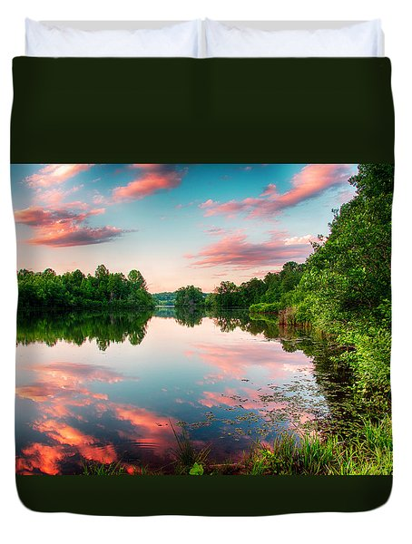 Cathey's Reflection Duvet Cover