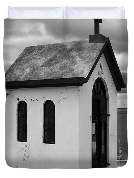 Catholic Chapel Duvet Cover by Gaspar Avila