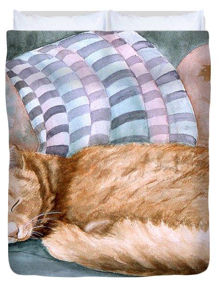 Catnap Duvet Cover