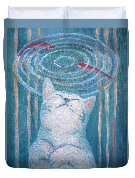 Cat's Dream Duvet Cover