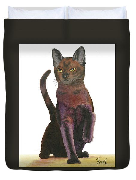 Cats Meow Duvet Cover