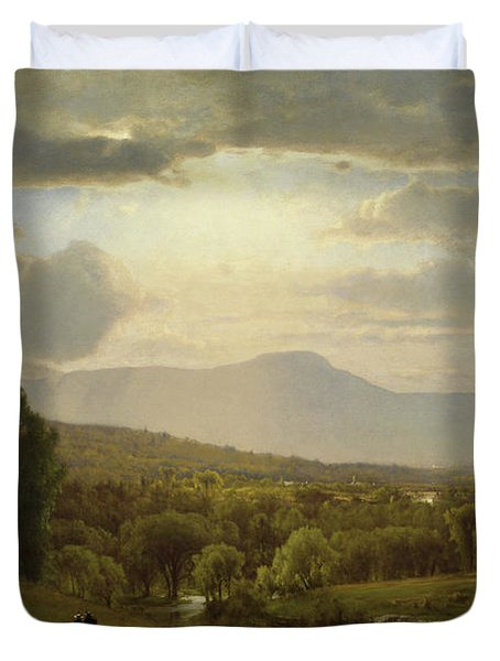 Catskill Mountains Duvet Cover