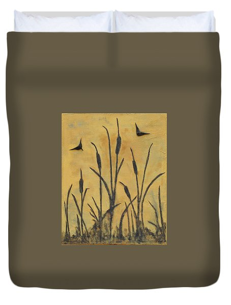 Cattails I Duvet Cover