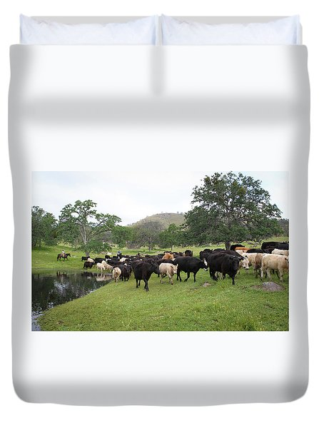 Cattle Duvet Cover