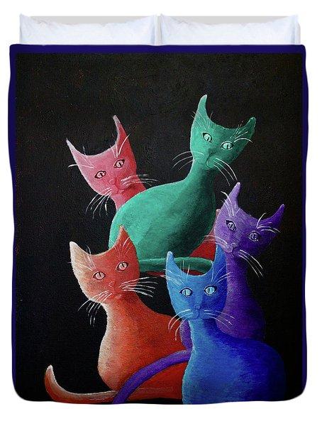 Catz Catz Catz Duvet Cover