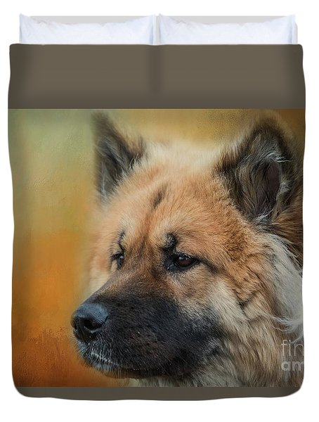 Caucasian Shepherd Dog Duvet Cover