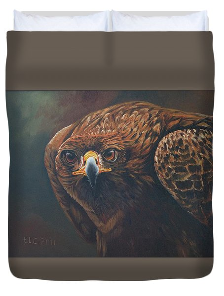 Caught In Sight Duvet Cover