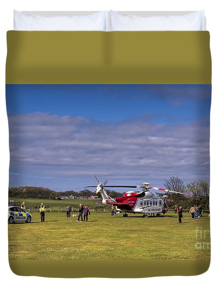 Caused A Stir Duvet Cover by David  Hollingworth