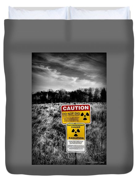 Caution Duvet Cover