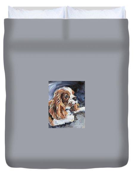 Cavalier King Charles Spaniel Duvet Cover