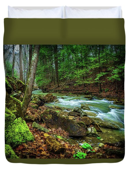 Cave Branch #15 Duvet Cover