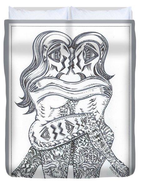 Ballo Nero Duvet Cover