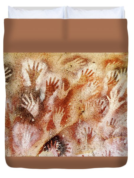 Cave Of The Hands - Cueva De Las Manos Duvet Cover