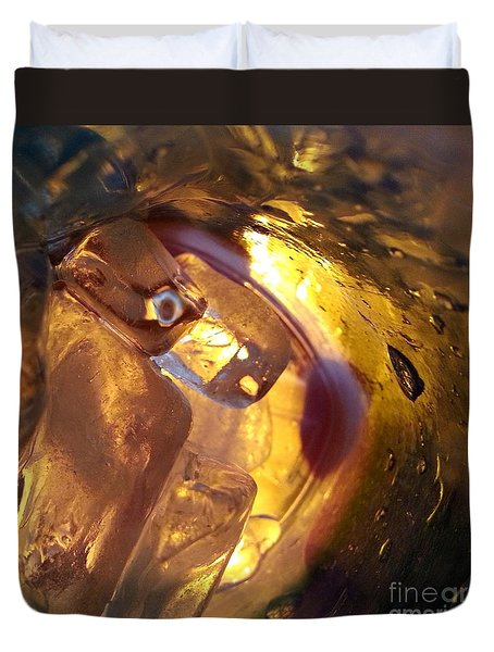 Duvet Cover featuring the photograph Cavern Of Wonders by Steed Edwards