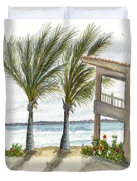 Cayman Hotel Duvet Cover