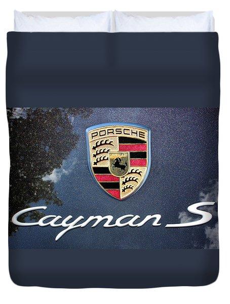 Cayman S Duvet Cover by Kristin Elmquist