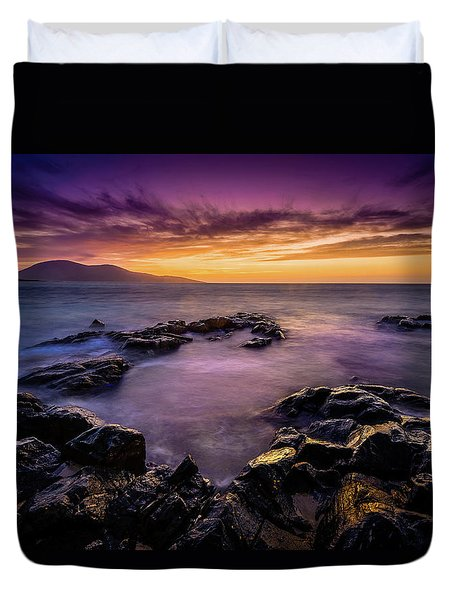 Ceapabhal And Traigh Mohr, Isle Of Harris Duvet Cover