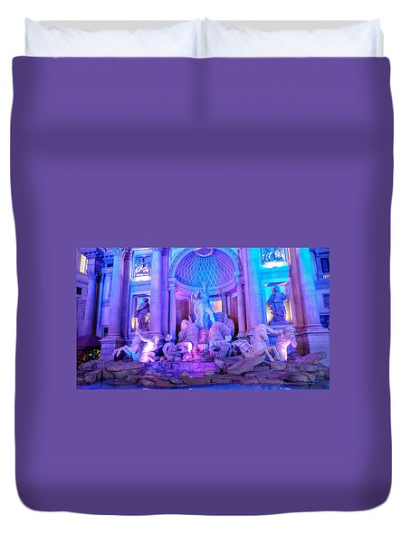 Ceasars Palace Forum Shops Duvet Cover