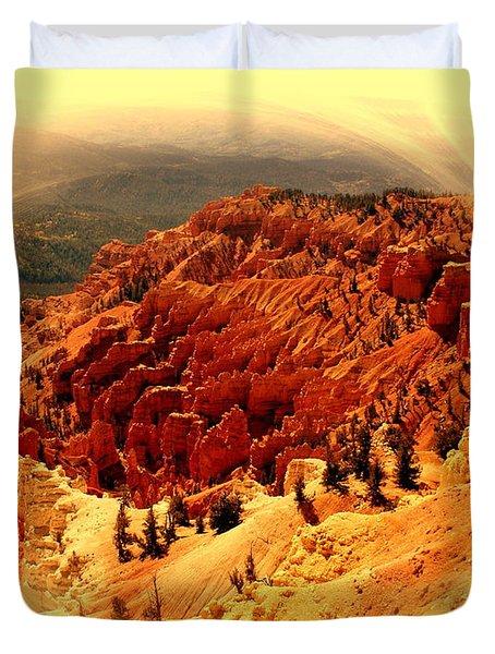 Cedar Breaks 2 Duvet Cover by Marty Koch