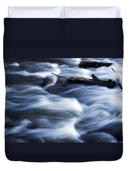 Cedar Creek Rapids Duvet Cover