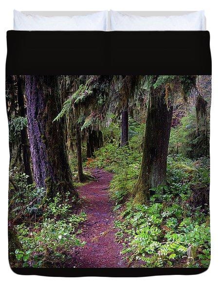 Cedar Creek Trail #3 Duvet Cover