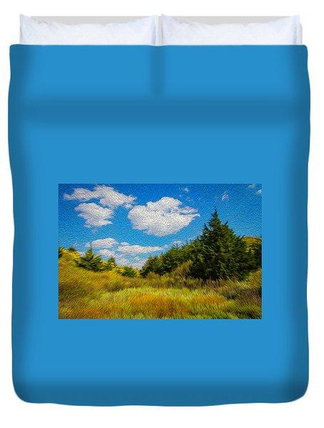 Cedar Gulch Duvet Cover