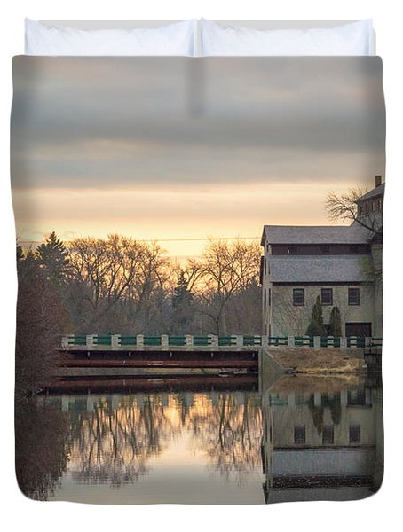 Cedarburg Mill Duvet Cover