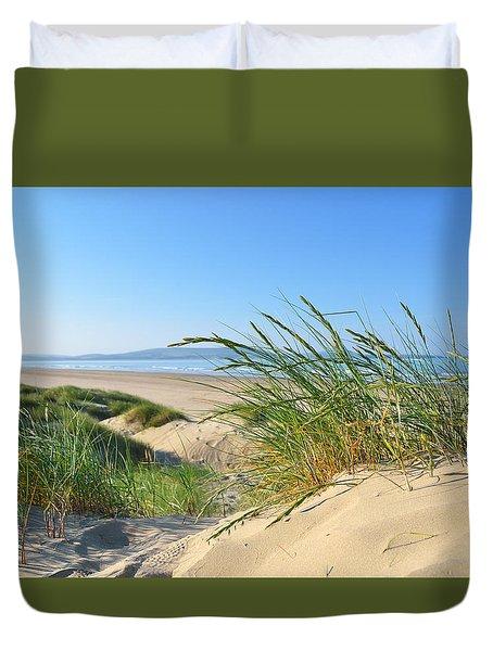 Cefn Sidan Beach 4 Duvet Cover