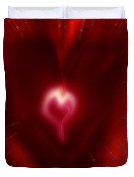 Celebrate Love Duvet Cover by Linda Sannuti