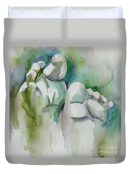 Celebrate The Gift Duvet Cover
