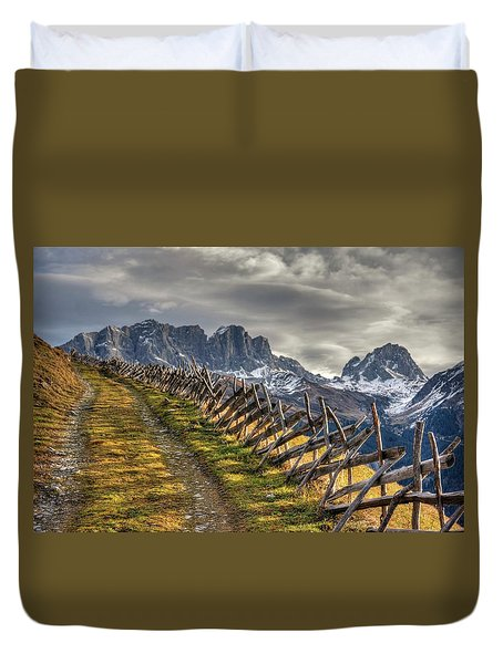 Duvet Cover featuring the photograph Celebrate The Sunrise by Peter Thoeny