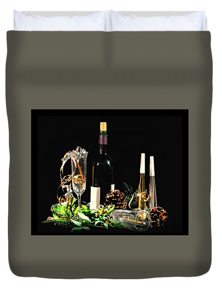 Duvet Cover featuring the photograph Celebration by Diana Angstadt