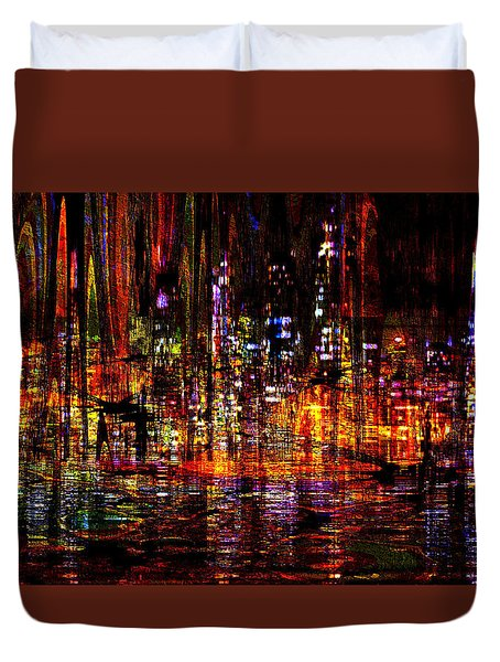 Celebration In The City Duvet Cover