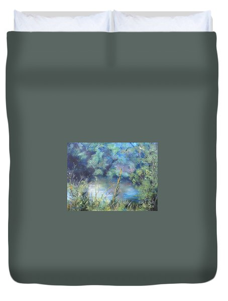 Celebration Of Solitude Duvet Cover