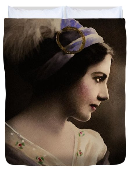 Celeste Aida Duvet Cover