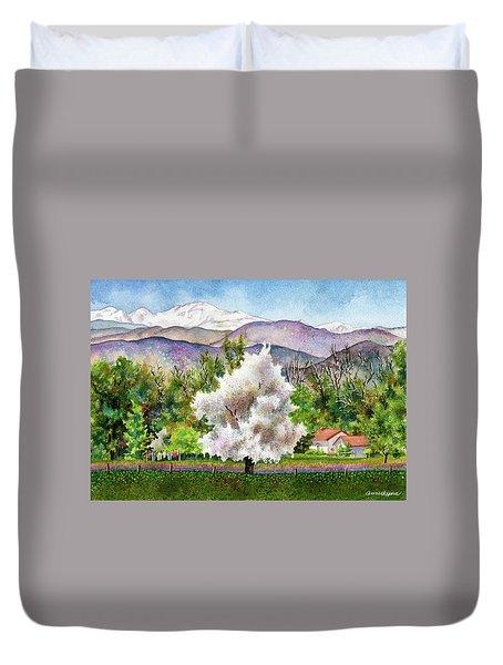 Celeste's Farm Duvet Cover