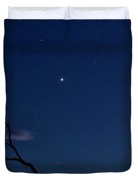 Celestial Alignment Duvet Cover