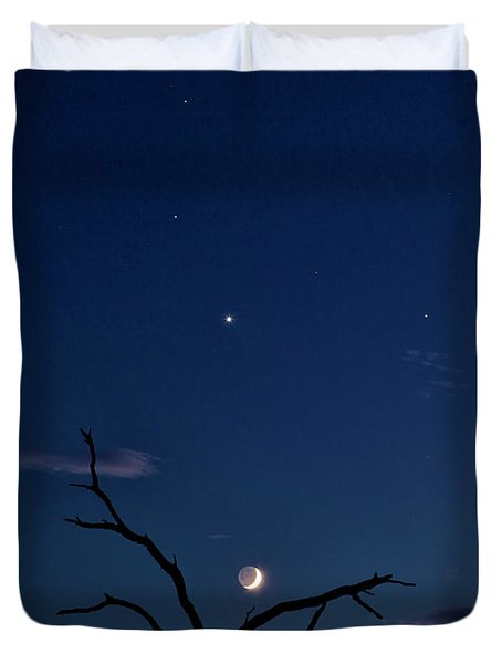Celestial Alignment Duvet Cover