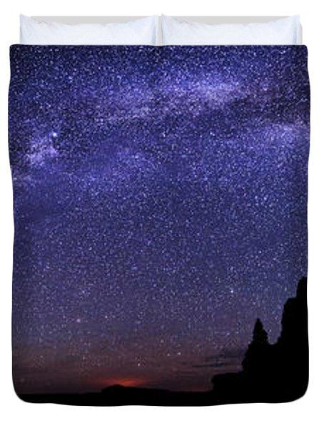 Celestial Arch Duvet Cover