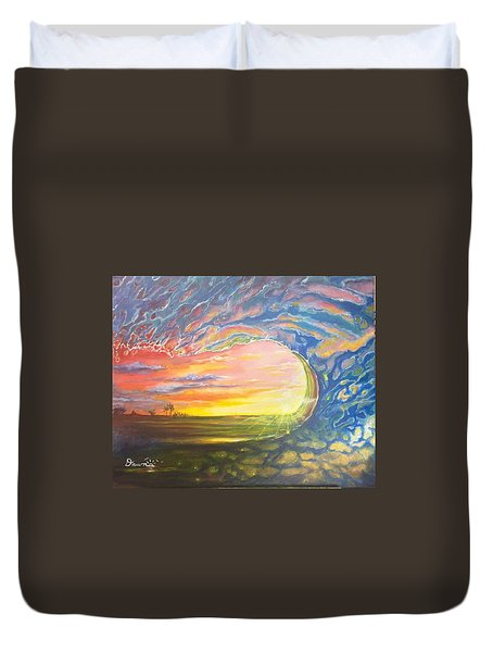 Celestial Break Duvet Cover