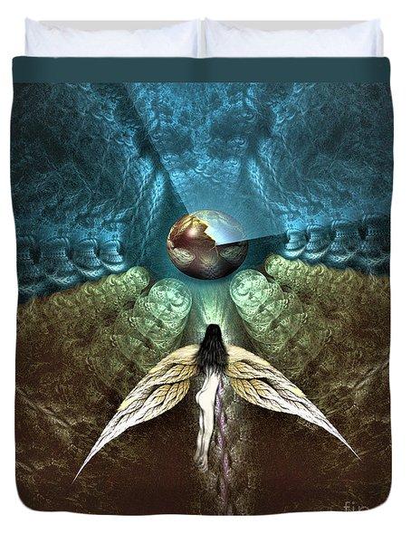 Celestial Cavern Duvet Cover