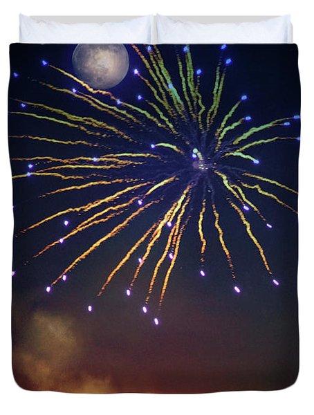 Celestial Celebration  Duvet Cover