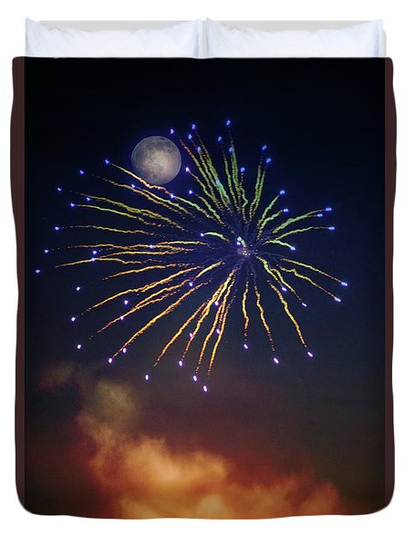 Celestial Celebration  Duvet Cover
